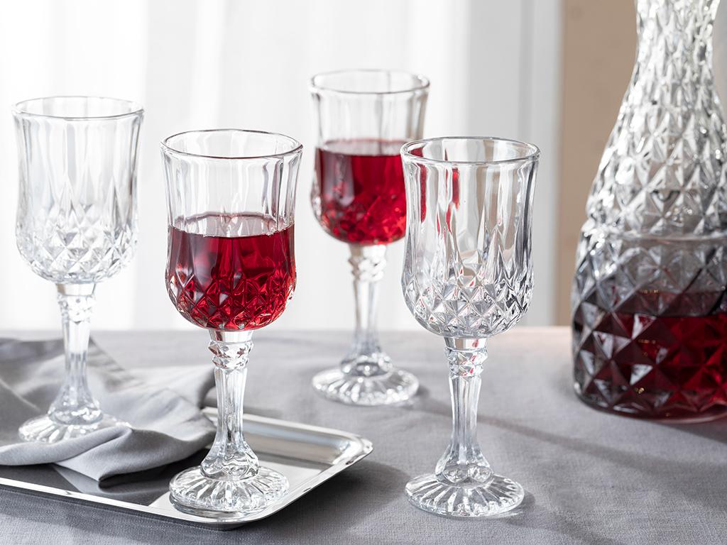 Rich Glass 4 Set Glass 245 Ml