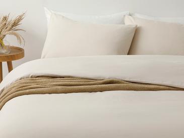 Pure Спално Бельо Компле Единични Памучен 160x220cm Бежово