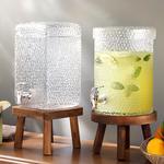 Puget Glass Beverage Holder Şeffaf