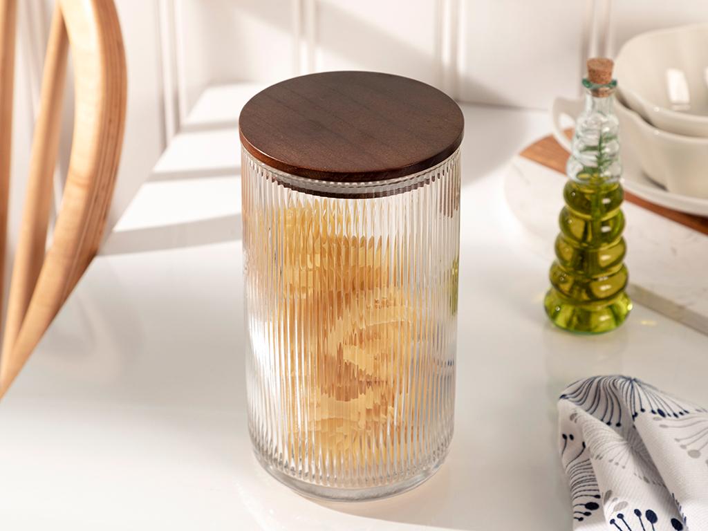 Cassidy Glass Saklama Jar Şeffaf