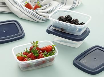 Navy Кутии за Съхранение на Храна 5 Бр. 300 Ml Тъмносиньо