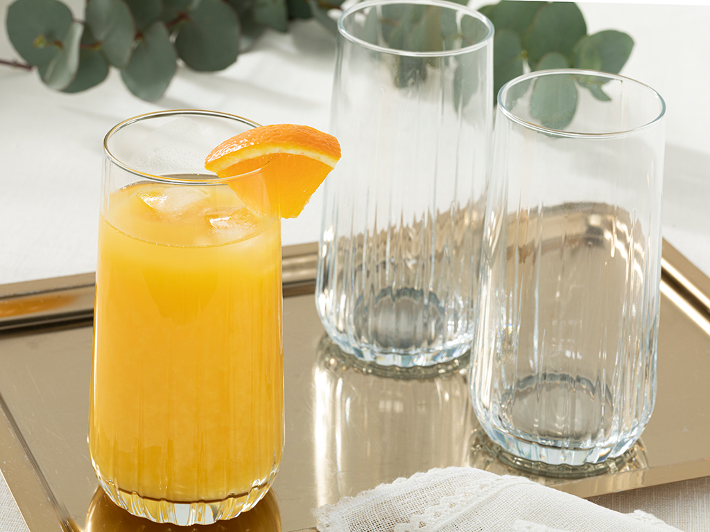 Koza Чаша за Безалкохолно Стъкло 3 Бр. 360 Мл Прозрачно