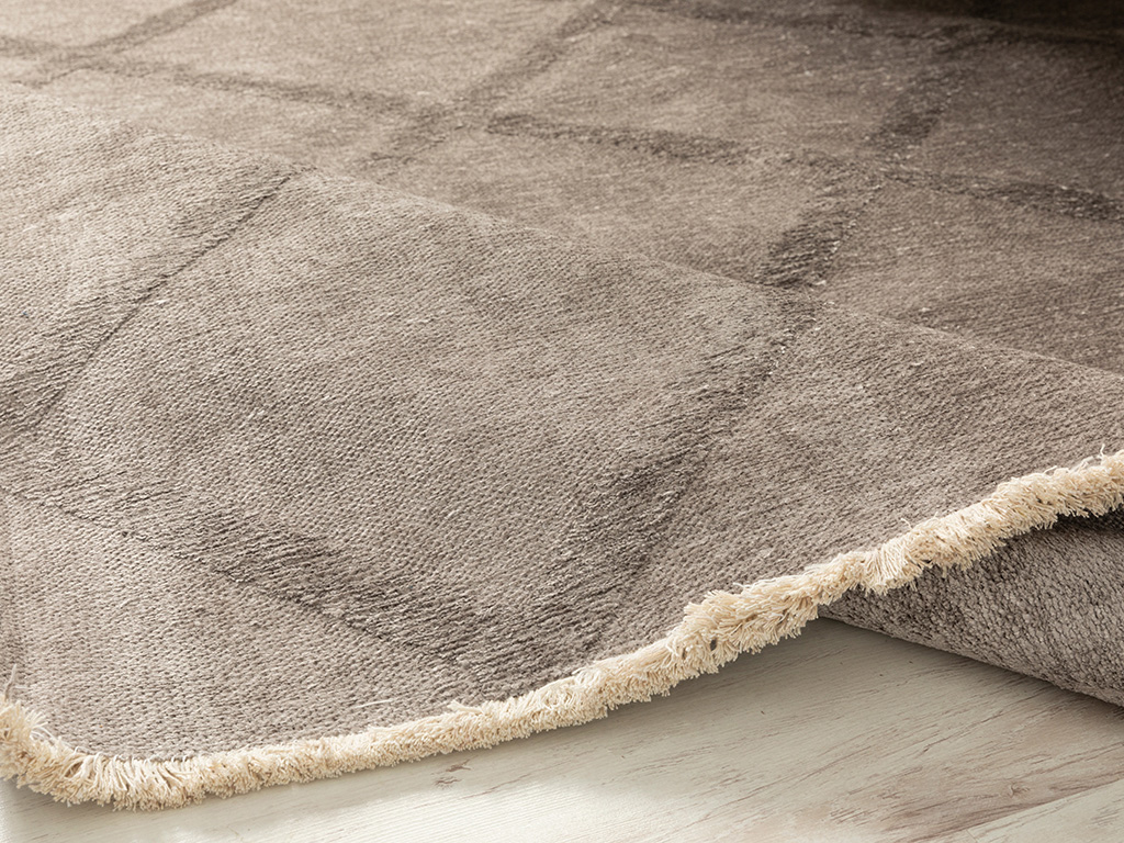 Vera Chiffon Carpet 120x180 Cm. Vizon