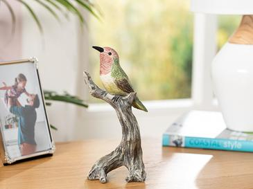Humming Birds Декоративен Предмет  11x10x10,8 См Зелено