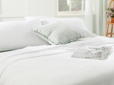Cool Stripe Сет Пике-Лятно Одеяло Двоен Размер 200x220 См Бяло