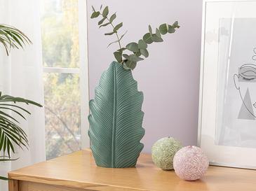 Green Leaf Ваза 11.5x8x33 Cm Зелено