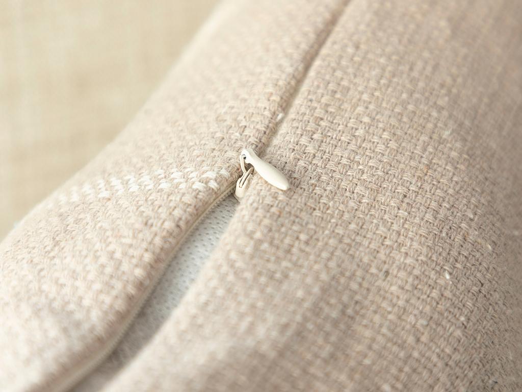 Modern Lines Cotton Polyester 45x45 Cm Bej