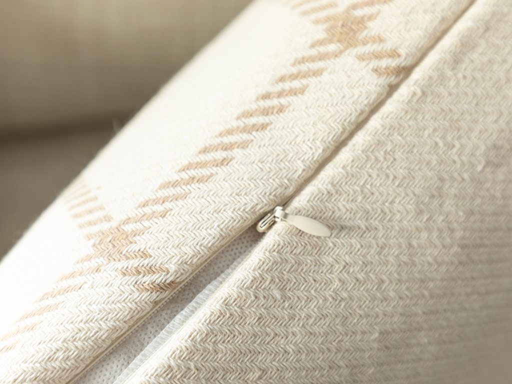 Elegant Lines Cotton Polyester 45x45 Cm Bej
