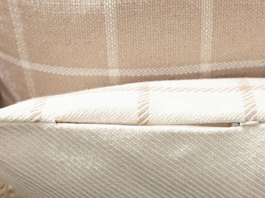 Elegant Lines Cotton Polyester 35x50 Cm Bej