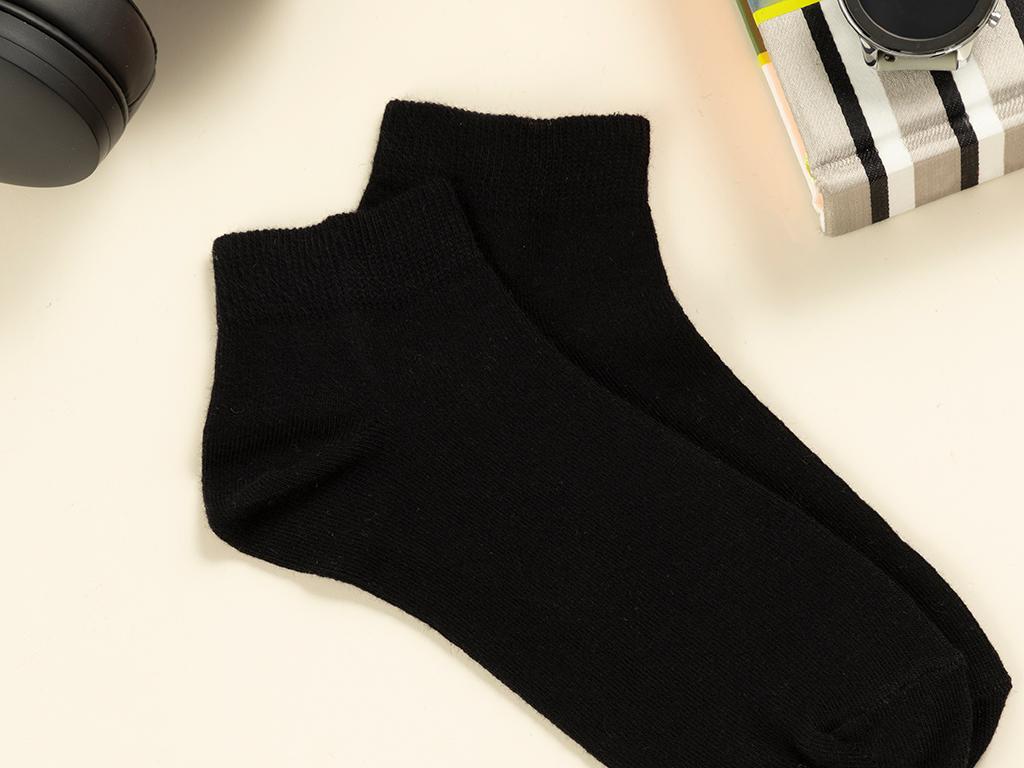 Simple Cotton Men's Mix Black