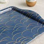 Melamine Rectangular Tray Dark Blue
