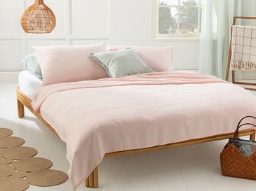 Cool Stripe Сет Пике-Лятно Одеяло Двоен Размер 200x220 См Розово