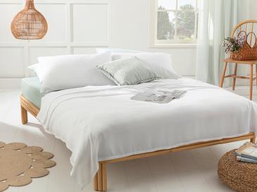 Cool Stripe Сет Пике-Лятно Одеяло Единичен Размер 150x220 См Бяло