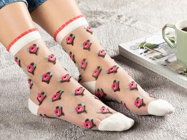 Beauty Дамски Чорапи Розово