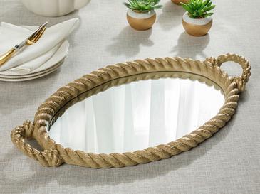 Rope Поднос 25 Cm Зелено