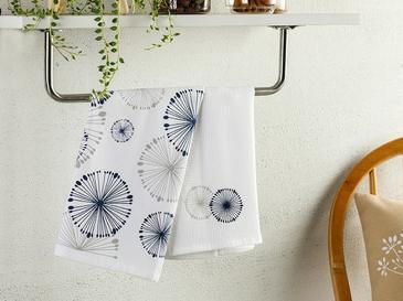 Misty Кърпа За Изсушаване 2 Броя Памучен 40x60 Бяло