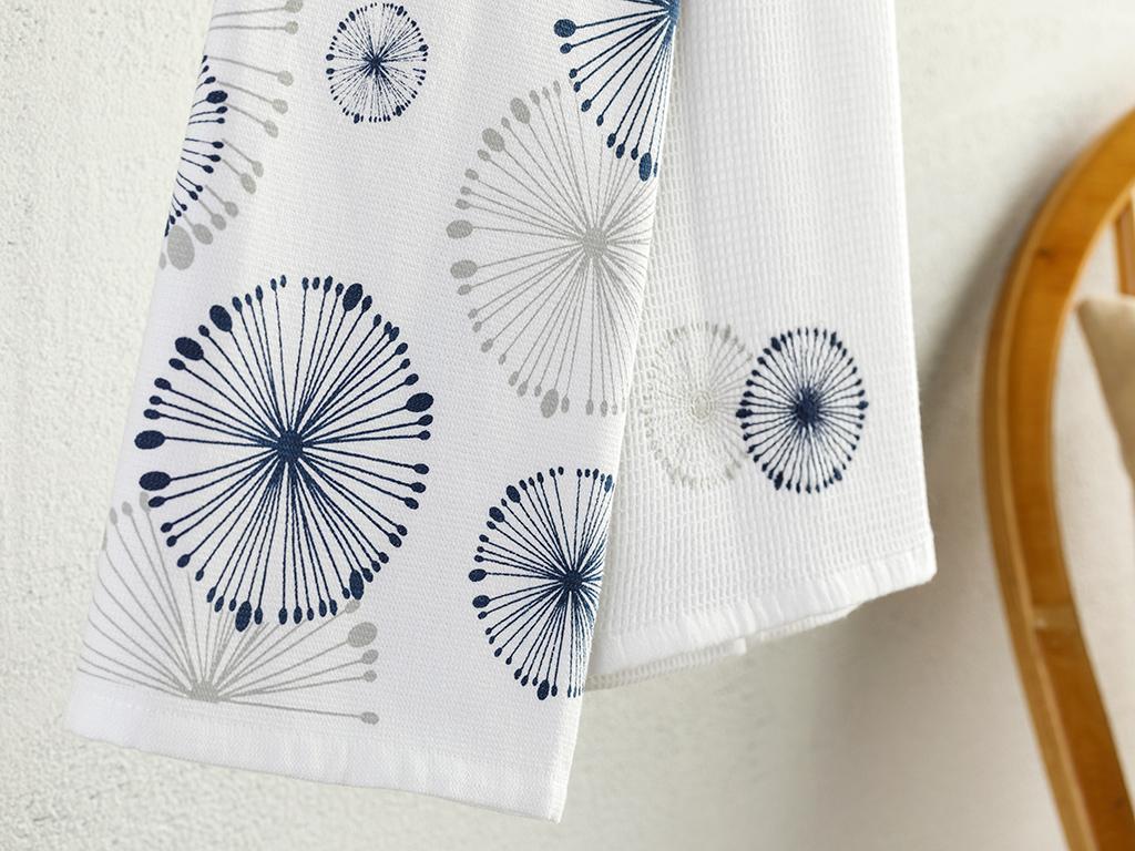 Misty Cotton 2 Set Dryıng Cloth 40x60 Cm White