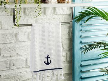 Anchor Кърпа За Изсушаване Памучен 40x60 Бяло