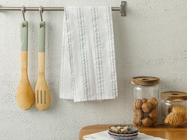 Softy Stripe Кърпа За Изсушаване Памучен 40x60 Зелено