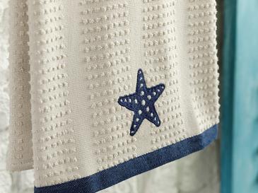 Marine Life Кърпа За Изсушаване Памучен 40x60 Бежово