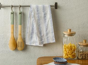 Softy Stripe Кърпа За Изсушаване Памучен 40x60 Синьо