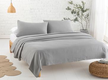 Cool Stripe Сет Пике-Лятно Одеяло Двоен Размер 200x220 См Сиво