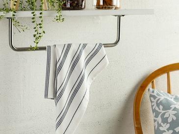 Marine Stripe Кърпа за Изсушаване 40x60 См Тъмносиньо