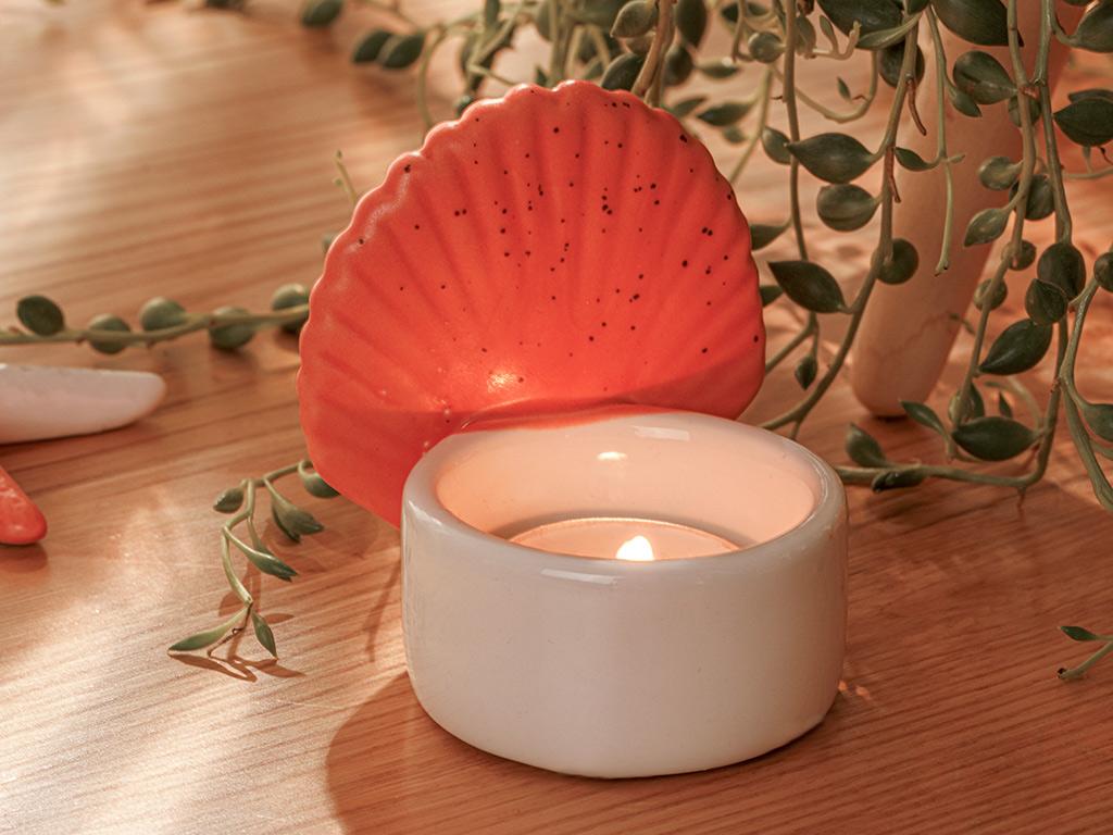 Shell Decorative Object Turuncu