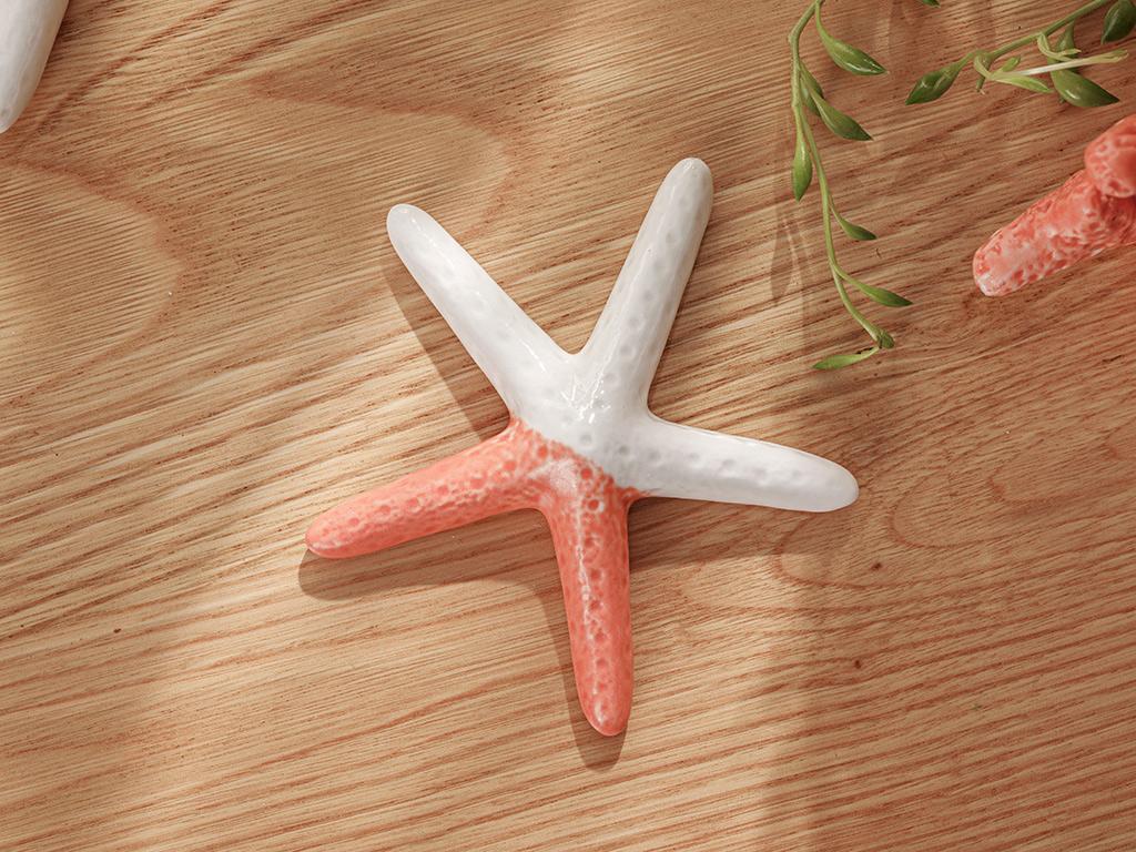 Sea Star Decorative Object Turuncu