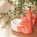 Coral Reef Декоративен Предмет 7,5x7x7,3 См Оранжево