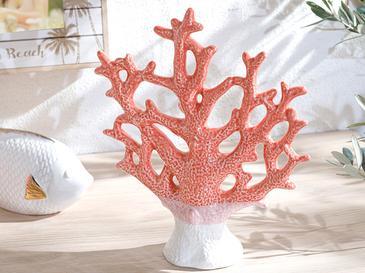 Coral Декоративен Предмет 23x7,4x27 См Оранжево