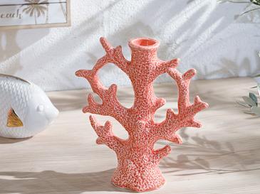 Coral Свещник Оранжево