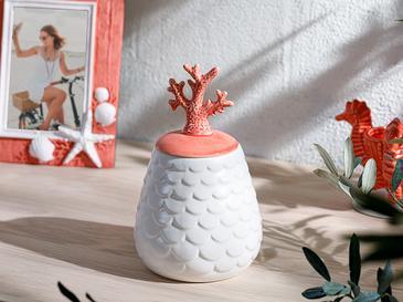 Coral Декоративна Кутия Оранжево