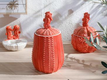 Seahorse Декоративен Предмет 11,4x10,7x20,5 См Оранжево