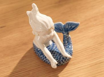 Mermaid Дрънкулка Синьо