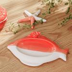 Seastar Decoratıve Plate Turuncu