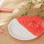 Life Of Sea Decoratıve Plate Turuncu