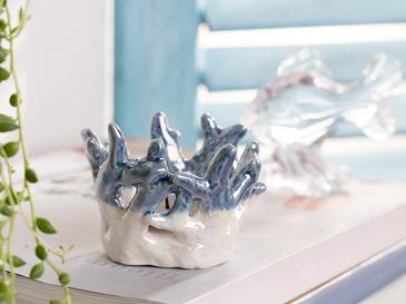 Coral Декоративна Купичка Синьо