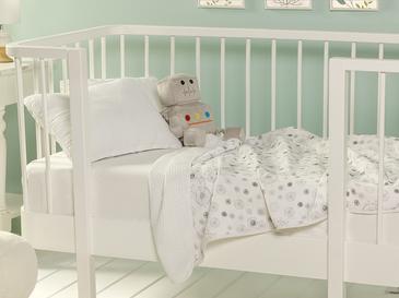 Бебешка Покривка Памучен 8,7x1,3x21,5 Cm Сиво