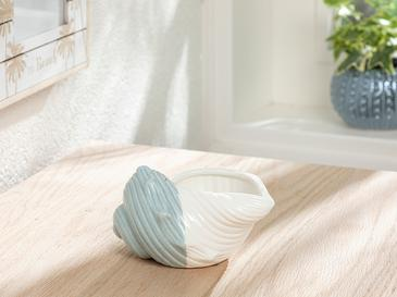 Seashell Декоративен Предмет 13,3x10,2x7,2 См Синьо