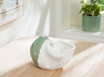 Seashell Декоративен Предмет 14,7x12,3x8,7 См Зелено