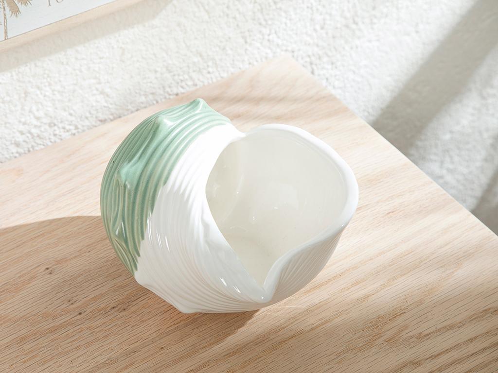 Seashell Decorative Object Yeşil