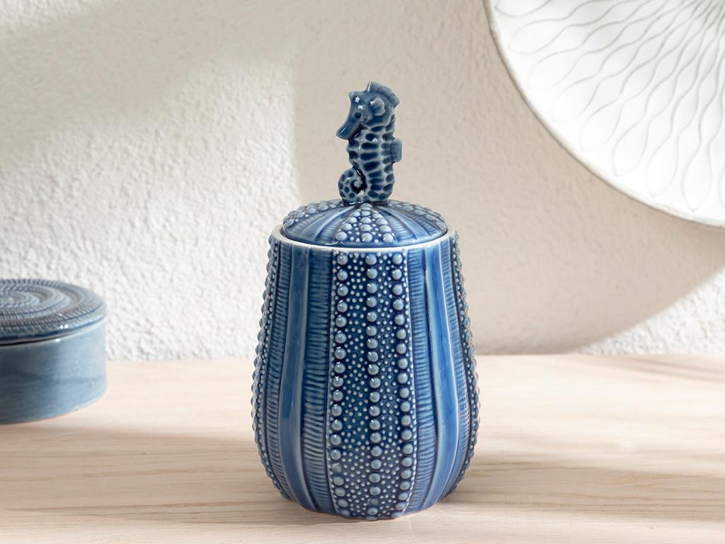 Seahorse Декоративен Предмет 11,4x10,7x20,5 См Синьо