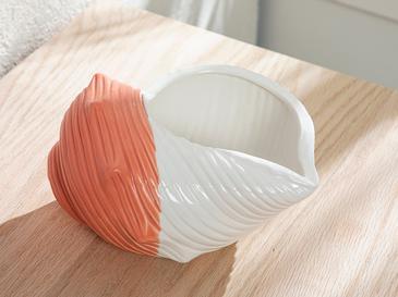 Seashell Декоративен Предмет Оранжево