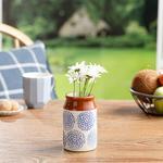 Cipso Rose Vase Mavi