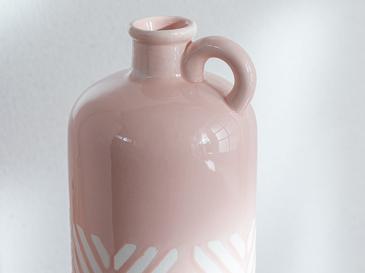 Bottle Ваза 11.3x11.6x36.5 Cm Розовo