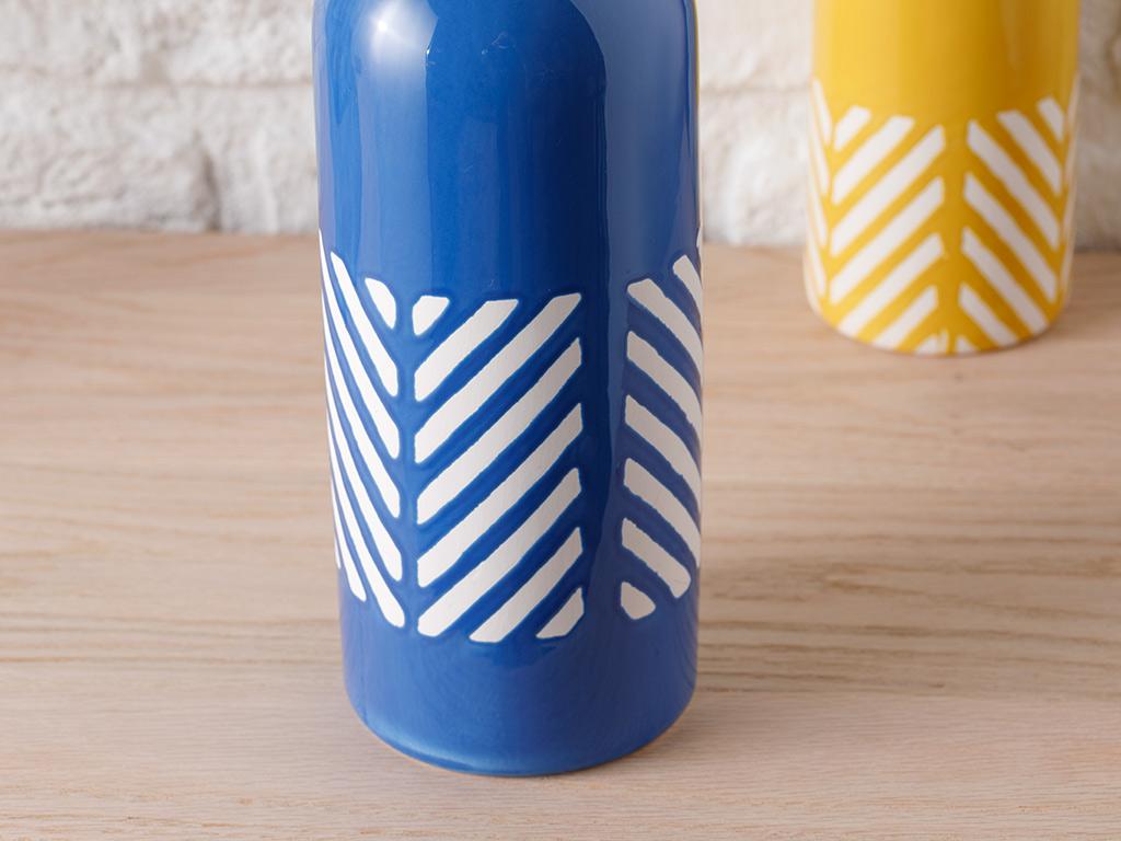 Bottle Vase Lacivert