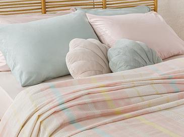 Покривка За Двама Боядисана Нишка 200 Ml Розово - Цвят Мента