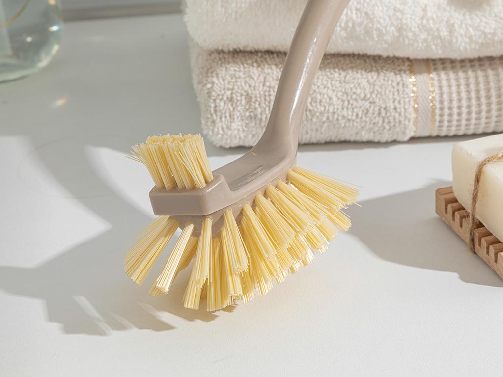 Amelia Bamboo Cleanıng Brush Kahve