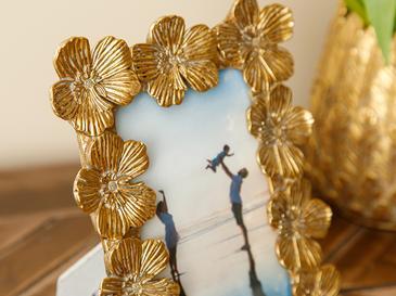 Flowers Рамка Злато